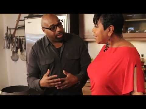 Shirley Strawberry and G. Garvin Cooking Meatballs and Spaghetti sponsor...