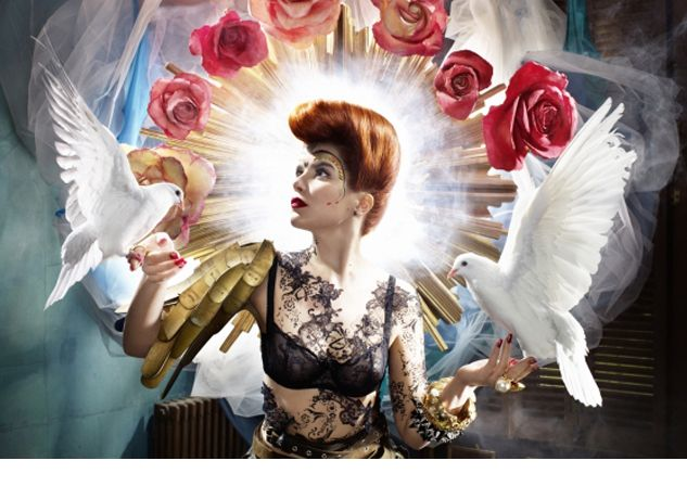 Paloma Faith Exhibition featuring David Standish Lightjet Prints and photography by Finlay Mackay, and live photography by Saul. #PalomaFaith #AlbumArtwork #DavidStandish #FinlayMackay #Music #photography Image © Finlay MacKay http://www.metroimaging.co.uk/paloma-faith-david-standish
