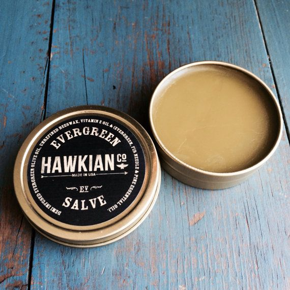 Evergreen Salve EverGreen Pine Fir Needle for Colds by HawkianCo, $13.00