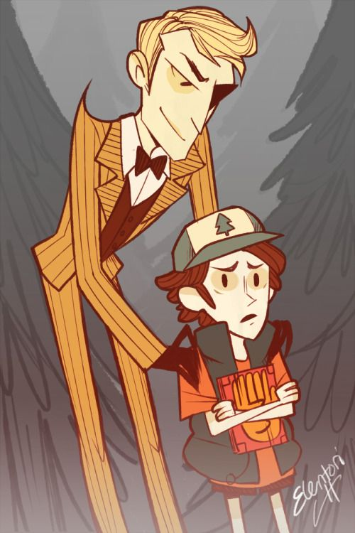 Don't starve, kid (Gravity Falls meets Don't Starve)