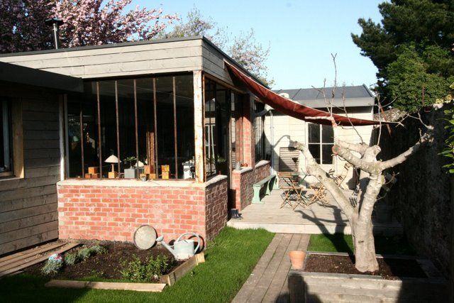Extension verri re extension la maison s 39 agrandit - Extension maison verriere ...