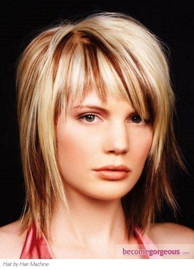 Stylish Blonde Hair Highlights