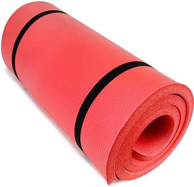 Yoga Cloud Ultra Thick 1 Yoga And Exercise Mat With Shoulder Sling P 49 99 In 2020 Mat Exercises Yoga Mats Best Best Yoga