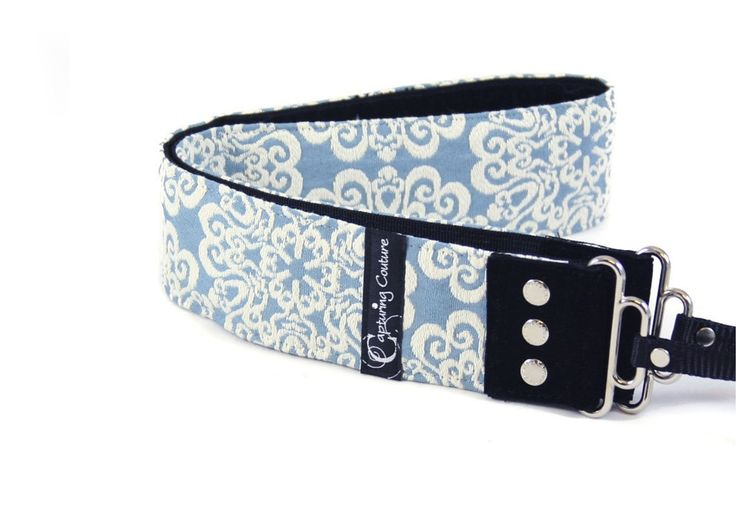 $70 Stylishooter - Serenity Sky Camera Strap by Capturing Couture