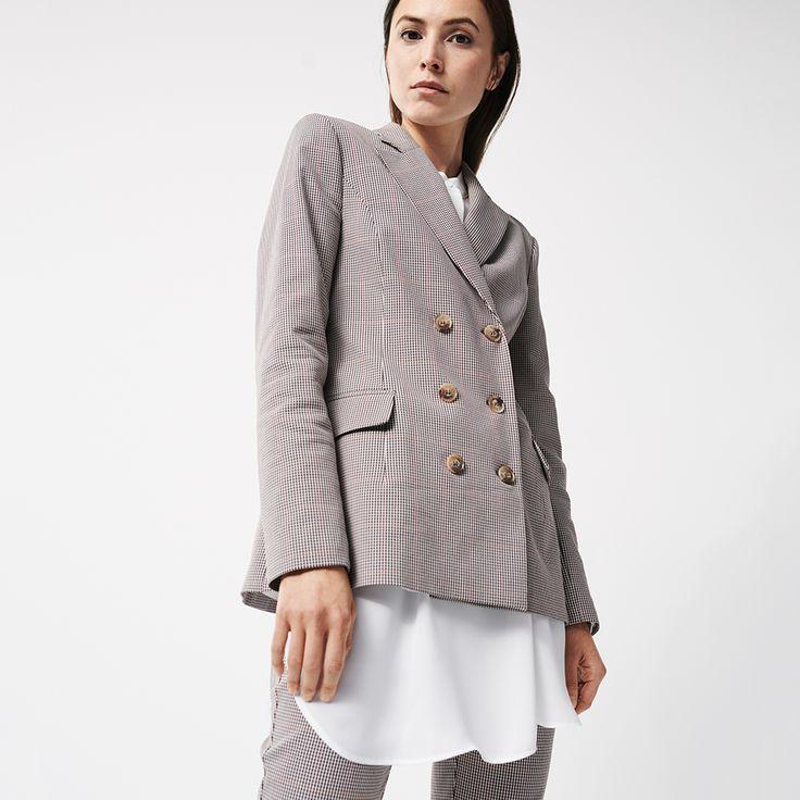 Hosenanzug im Glencheck-Stil #somedayfashion #tailoredfit ...