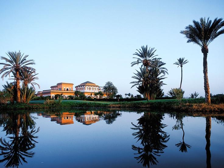 Golf Club La Palmeraie  Marrakech. In volo sulla città rossa a bordo di un tappeto magico