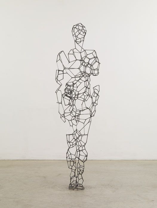 Less is more, exploration of space and it's relationship with the whole, the silhouette....Antony-Gormley9.jpg (526×700)