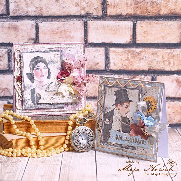CraftHobby Oliwiaen: Cards For Grandma And Grandpa. Kartki dla babci i dziadka