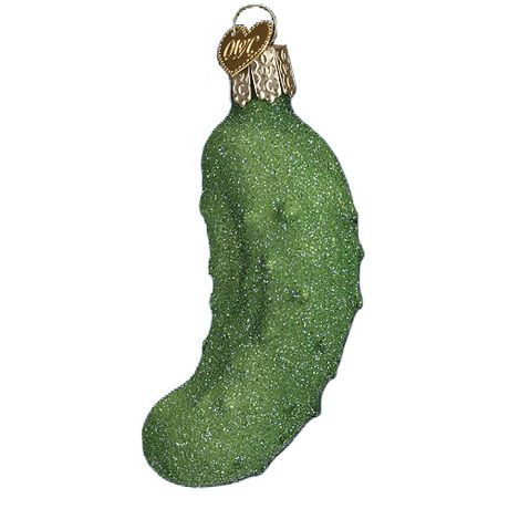 Do you know about the Christmas pickle ornament tradition with German connections? Hide the pickle ornament on the tree and whoever finds it first gets a special gift! Great tradition to start with your family!