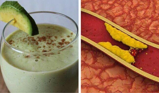 In diesen Shakes werden die Eigenschaften der Avocado und anderer Zutaten genutzt, um schlechtes Cholesterin zu senken und gutes zu erhöhen.
