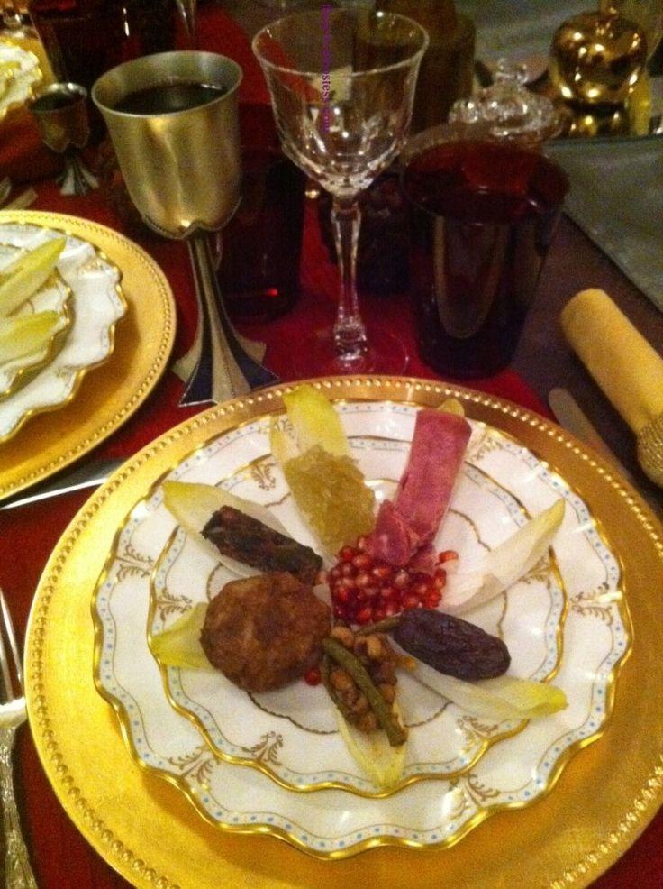 Beautiful Rosh Hashanah Table Moroccan Style Via