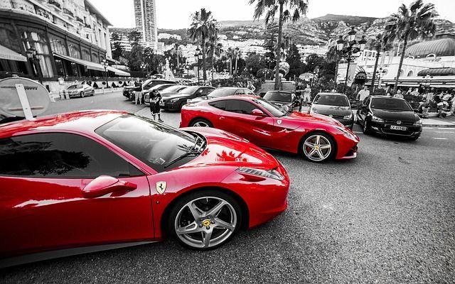 Ferrari Monte Carlo Licencja Public Domain Cc