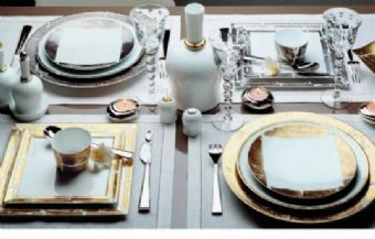 Gold Leaf and Silver Leaf collections - Bernardaud & 60 best Dinnerware images on Pinterest | Dinner ware Dinnerware and ...