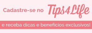 Confira mais uma dica imperdível do Tips4Life para você ter uma vida saudável e equilibrada.