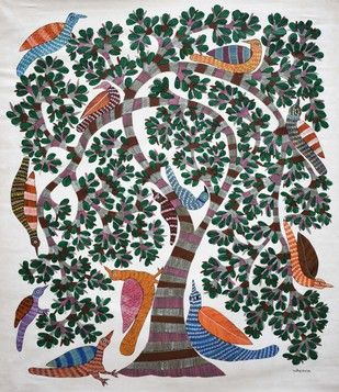 Gond Painting Artwork