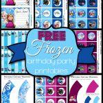 Free Frozen Birthday Party Printable Kit