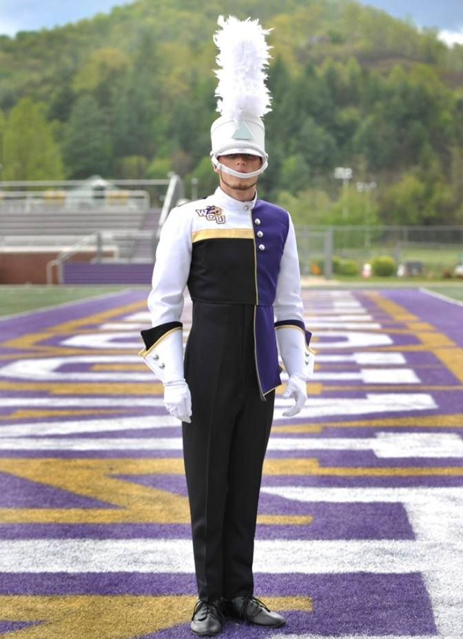 Western Carolina University's Pride of the Mountains Marching Band