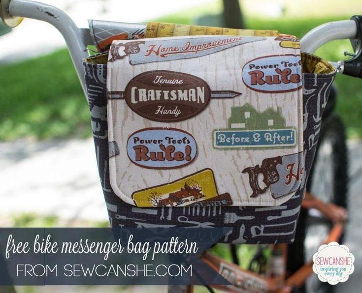 Little Bike Messenger Bag - Free Pattern | Craftsy