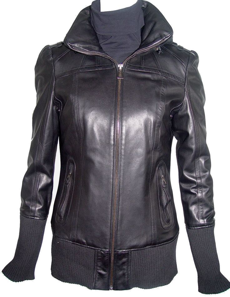 Paccilo Women 4021 PETITE & ALL SIZE Fashion Short Leather Jacket. Any size incl. custom avail. (unseen SIZES, contact us).