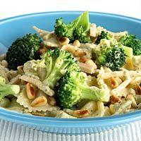Vrijdag 16 november Pasta met pesto, broccoli en kip.