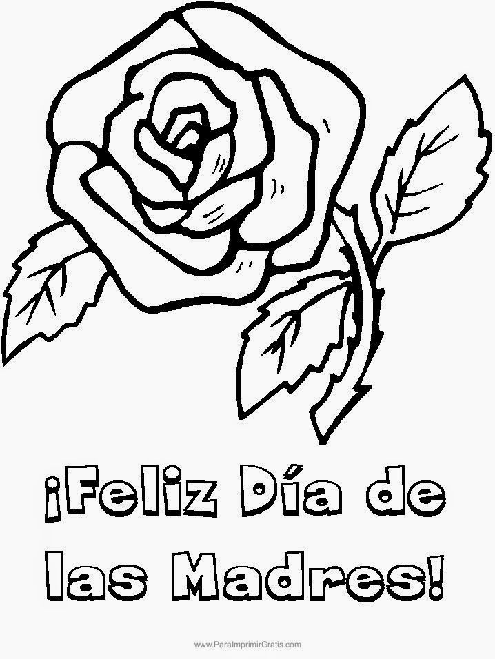 Feliz Dia Mamá Escrito En Letra Cursiva Yahoo Image Search Results Mothers Day Coloring Pages Rose Coloring Pages Flower Coloring Pages