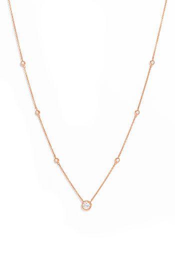 Kwiat Diamond Solitaire Necklace | Nordstrom