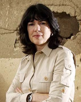 """Christine Amanpour -  British-Iranian journalist and television host. """"What are your aspirations?"""" Rory – """"I want to go to Harvard and study journalism and political science."""" Headmaster – """"On your way to being…?"""" Rory – """"Christiane Amanpour."""""""
