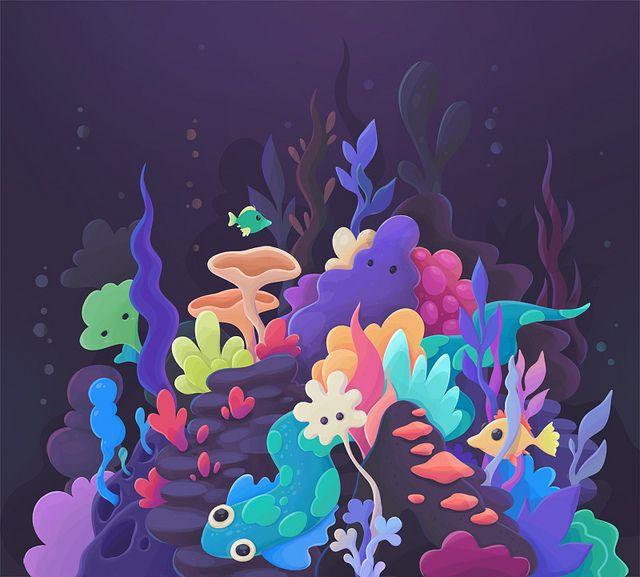 'Underwater' by zutto