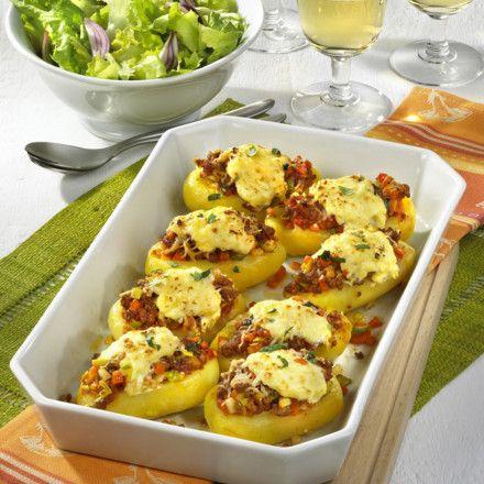 Überbackene Kartoffeln Rezept | LECKER
