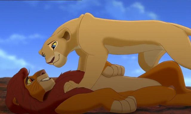Simba & Nala The Lion King II: Simba's Pride   Disney ...