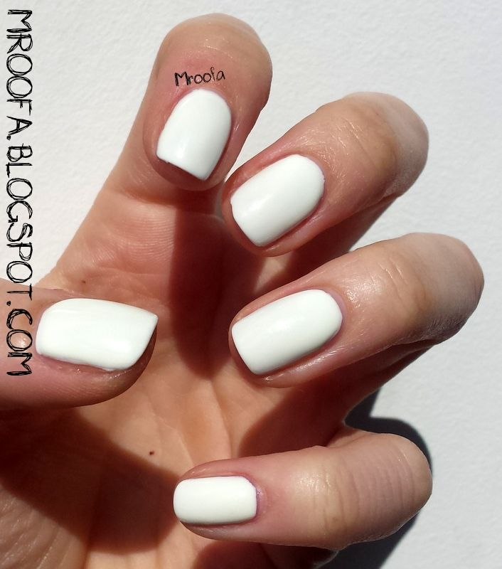 Semilac 001 - Strong White