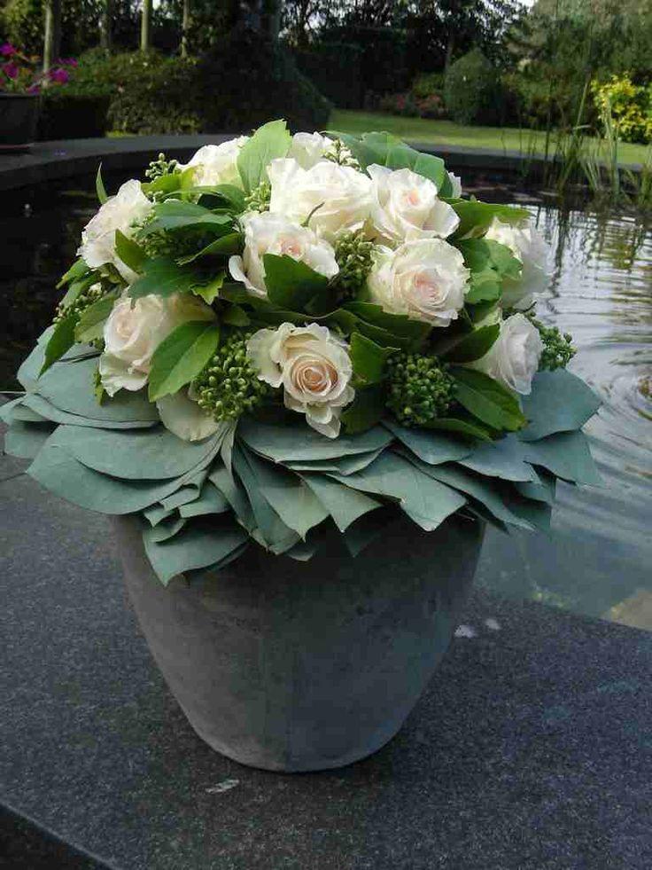 Pot met rozen