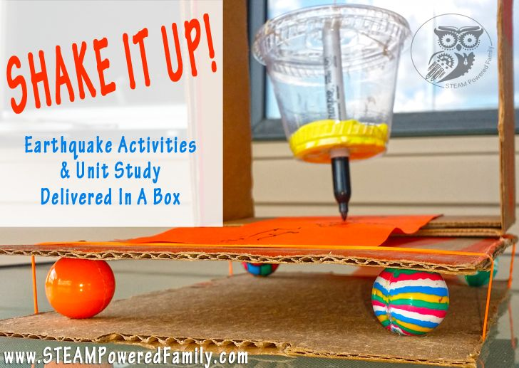 Shake It Up - Earthquake Unit Study In A Box