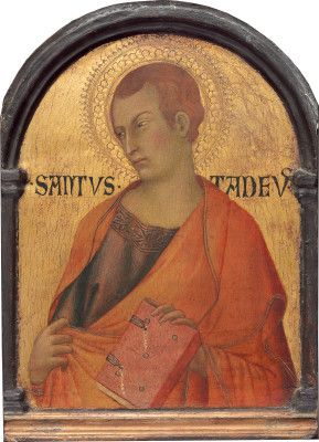 Saint Judas Thaddeus by Simone Martini 1315-1320