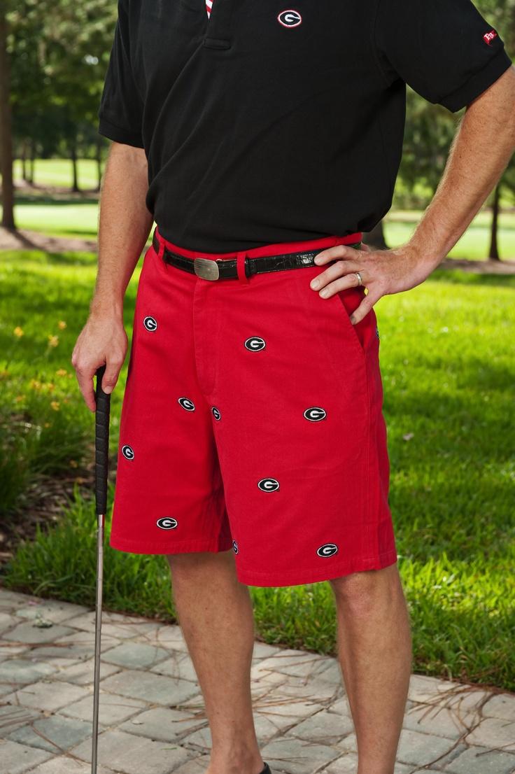 Georgia Red Shorts - Men from Pennington & Bailes