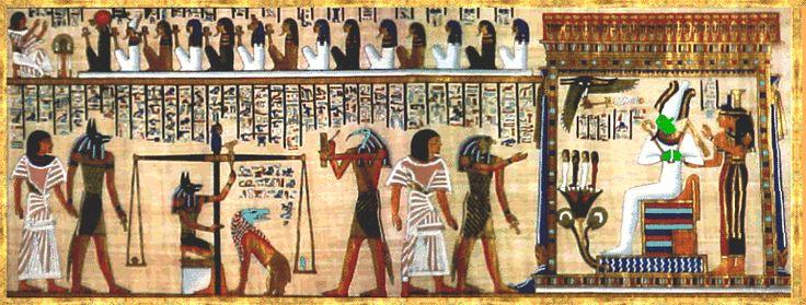 History of Illustration: Midterm Flashcards | History of ...  Judgement Before Osiris