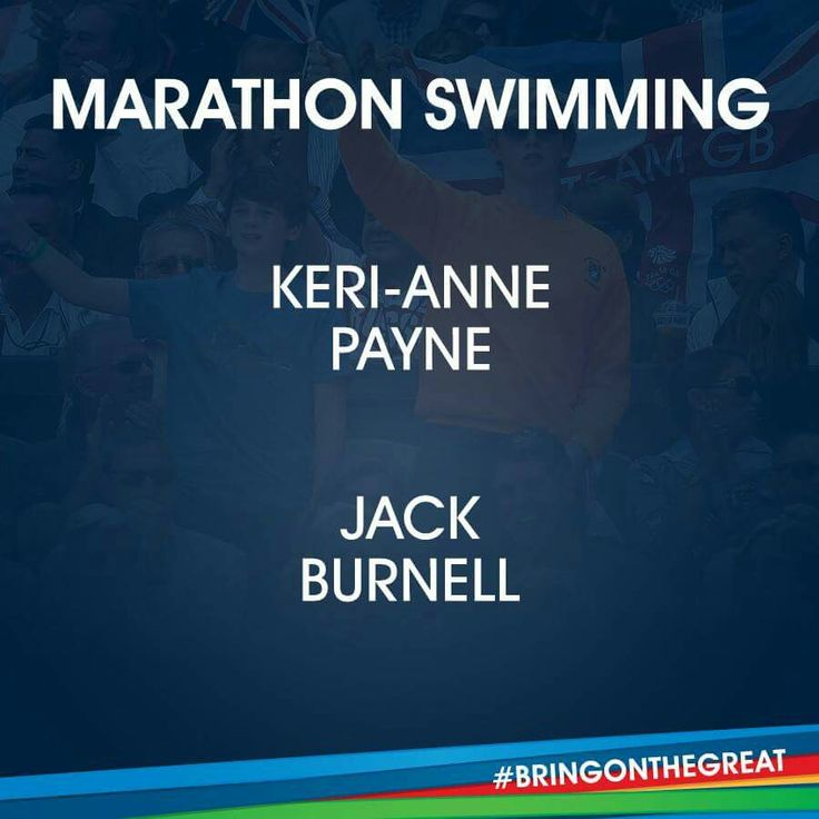 Marathon Swimming- Team GB - Rio 2016