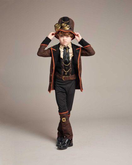 steampunk boys costume