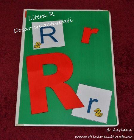 litera R, dosar cu activitati