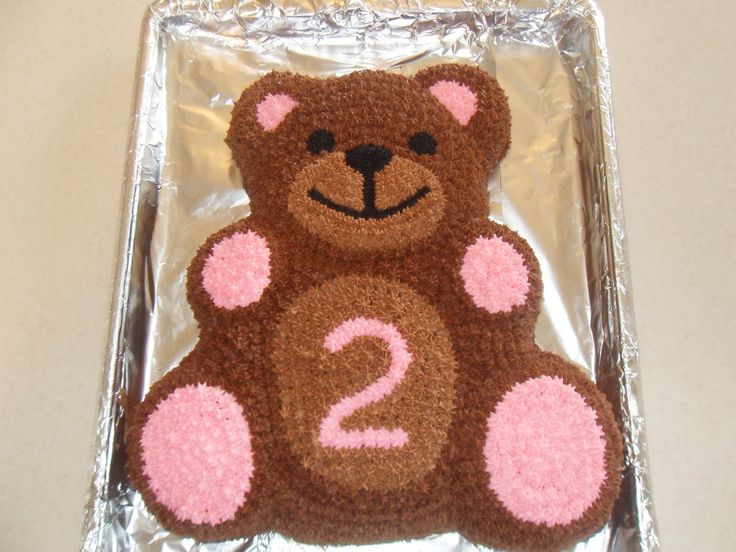 Simple Joy Crafting: Teddy Bear Birthday Cake