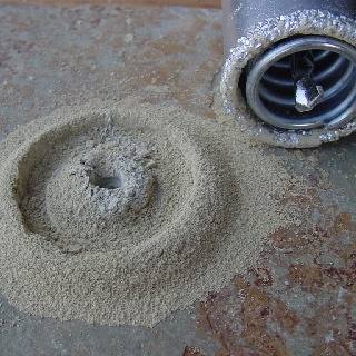 Carbide grout saws are used for soft bodied stones and tiles