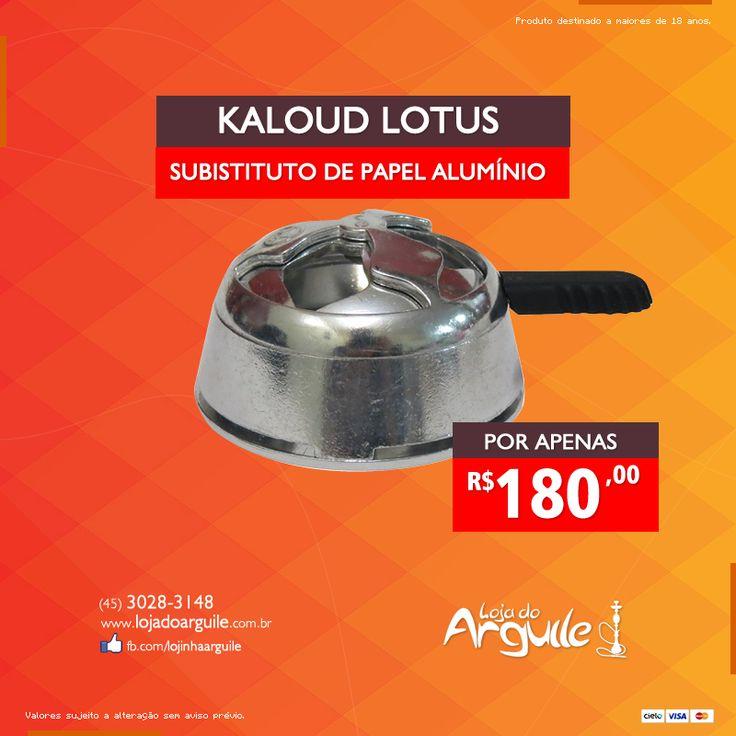 Kaloud Lotus  DE R$ 230,00 / POR R$ 180,00 Em até 18x de R$ 13,08 ou R$ 171,00 via depósito  Compre Online: http://www.lojadoarguile.com.br/kaloud-lotus