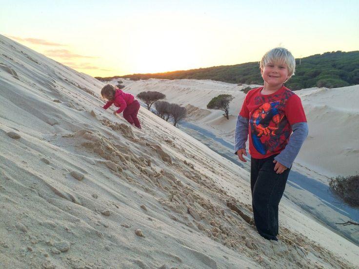 Sand Dunes at Punta Paloma, Tarifa   Písečné duny na Punta Paloma, Tarifa