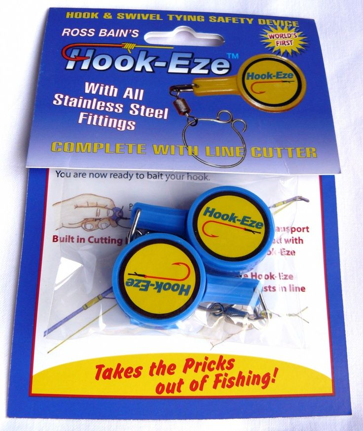 Hookeze Twin Pack single. Really cool for holding the hook while attaching it to your line.