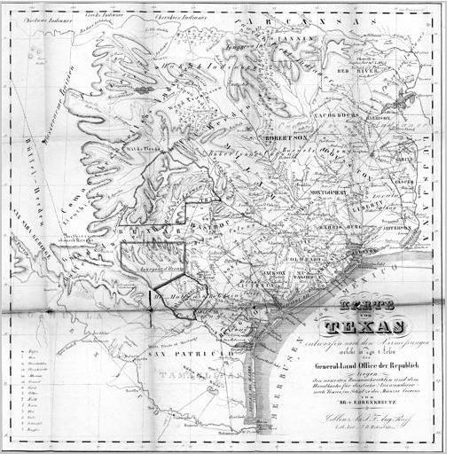 267 - Karte von Texas - Page - Landesbibliothekszentrum Rheinland-Pfalz - dilibri Rheinland-Pfalz