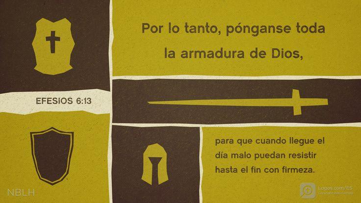 Estoy leyendo Efesios 6.13
