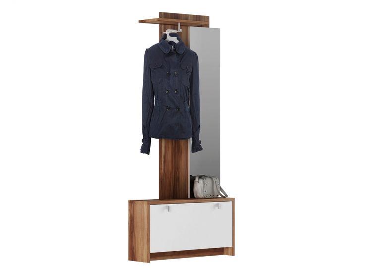 UGO Hallmöbel Vit/Merano i gruppen Inomhus / Förvaring / Hallmöbler hos Furniturebox (100-56-72454)