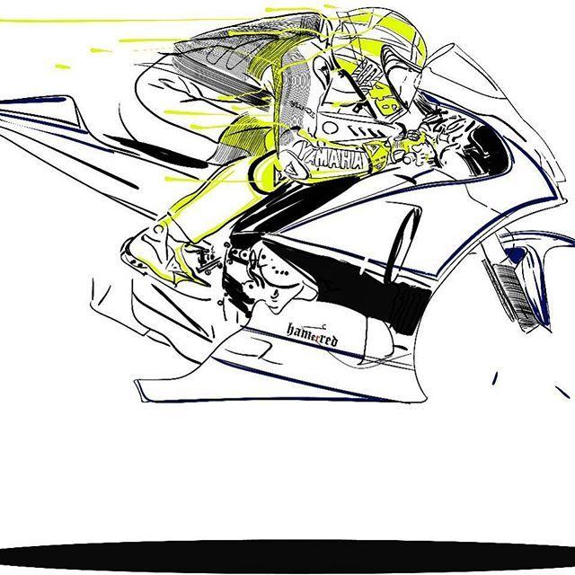 Motorcycle Art by Hamerred49 23