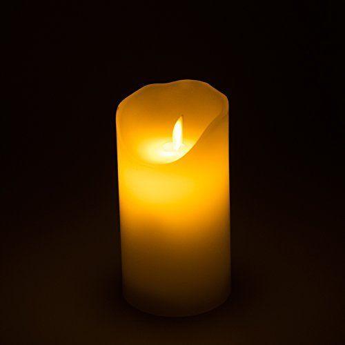 Vela LED sin llamas de 2 pulgadas de Homemory,vienen 12 unidades por un juego, llamas de color ámbar,adecuando para los lugares y festivos tales como hacer un deseo, varias veladas y navidad etc.