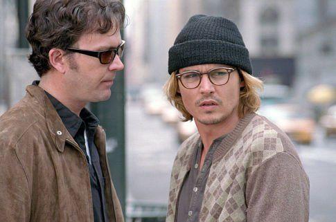 Still of Johnny Depp and Timothy Hutton in A Janela Secreta (2004)